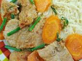 Sichuan Orange Beef — Stock Photo