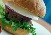 Ultimate Greek Burgers — Stock Photo