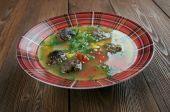 Mexican Meatball Soup — Foto de Stock
