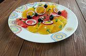 Sicilian orange salad — Stock Photo