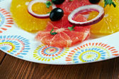 Sicilian orange salad — Stock Photo