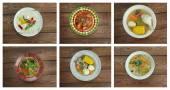 Southern food.Latin American cuisine — Stock Photo