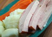New England boiled dinner — Stock Photo