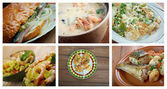 Set of different  seafoods. — Stock Photo