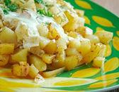 Patatesli yumurta — Stock Photo