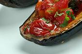 Stuffed Eggplant — Stock Photo