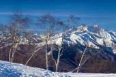 Monte rosa glacier from mottarone bright sunny day — ストック写真