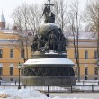 Monument Millennium of christening Russia, Veliky Novgorod — Stock Photo #65424831
