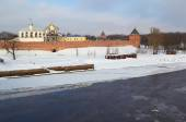 Russia.Novgorod the Great. Kremlin — Stock Photo