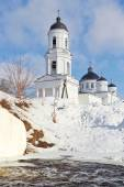 Orthodox Cathedral of Elijah the Prophet,  Soltsy. Russia — Стоковое фото