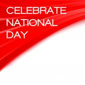 Celebrate National day Chinese poster — Cтоковый вектор