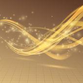 Energy wave lines — Stok Vektör