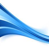Blue speed line — 图库矢量图片