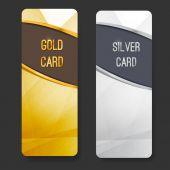 Premium membership club card collection — Stockvektor