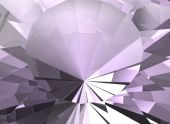 Background of Amethyst jewelry gemstone. — Stock Photo