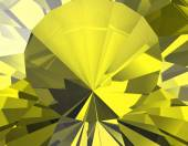 Background of yellow jewelry gemstone. — Stock Photo