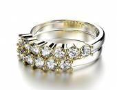 Konyak elmas yüzük. — Stok fotoğraf