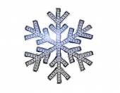 Diamond snowflake — Stock Photo