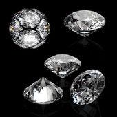 Close-up of luxury diamonds — Stock Photo