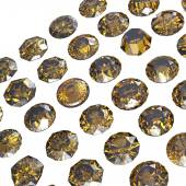 Round cognac diamonds against — Foto Stock