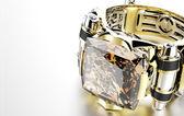 Luxury Ring with diamonds — Stock Photo