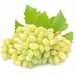 Ripe grapes with leaves — Stock Photo #79170048