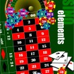 Casino elements. Vector illustration — Stock Vector #56689133