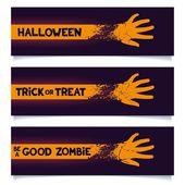 Halloween banners template — Stock Vector