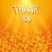 Thank you background design — Stock vektor
