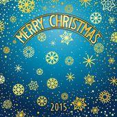 Christmas festliga bokstäver — Stockvektor