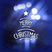 Blurred christmas background — Vector de stock