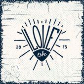 Miłość życia — Wektor stockowy
