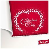 Valentines Day background — Cтоковый вектор