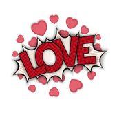 Αγάπη bang — Διανυσματικό Αρχείο