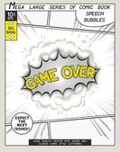 Series comics speech bubble — Stock Vector