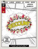Series comics speech bubble — Vector de stock