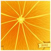 Just orange background — Vettoriale Stock