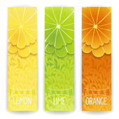 Citrus fresh juice — Stock Vector