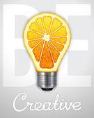 Be creative — Stock Vector