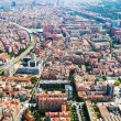Aerial view of Sants-Montjuic residential district. — Stock Photo #52479413
