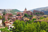General view of Albarracin  — Stock Photo