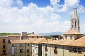 Collegiate Church of Sant Feliu — Stock Photo