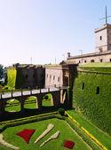 Castillo de Montjuic — Stock Photo