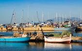 Port of L'Ampolla — Stock Photo