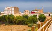 Rural scene in spanish town  — Stock Photo