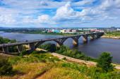 View of Nizhny Novgorod — Stock Photo