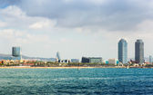 Barceloneta beach — Stock Photo