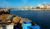 Fishing port in L'Ampolla — Stock Photo