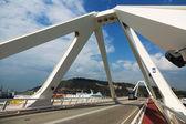 Bridge over Port of Barcelona — Stock Photo