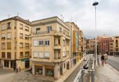 Straße im alten tortosa — Stockfoto